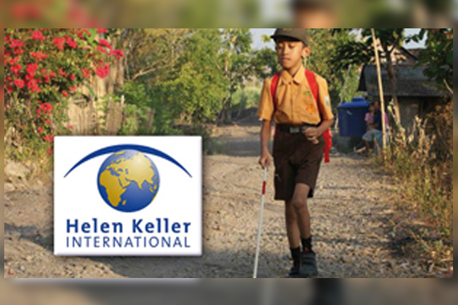 Locken soutient l'Association Internationale Helen Keller