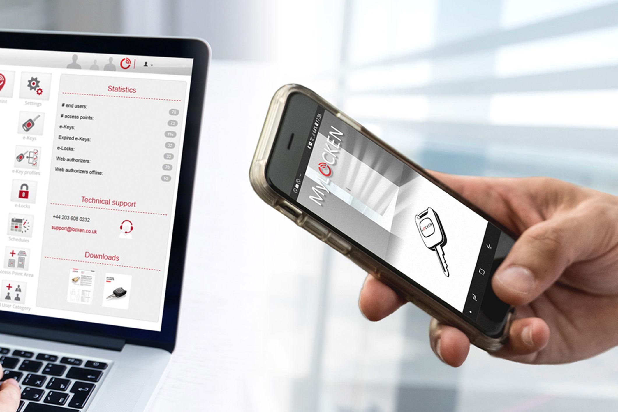 Locken Smart Access Software